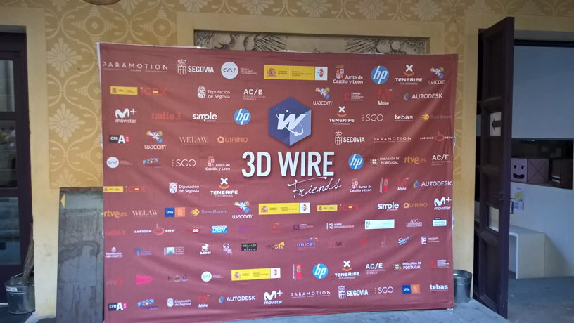 3D Wire event Segovia |HP